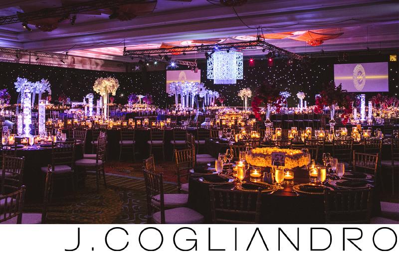 Elaborate Reception Decor at Grand Hyatt Hotel Orlando