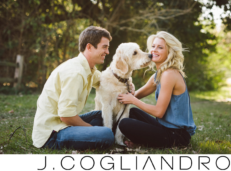 Houston Engagement Wedding Photography - Dog Friendly Engagement