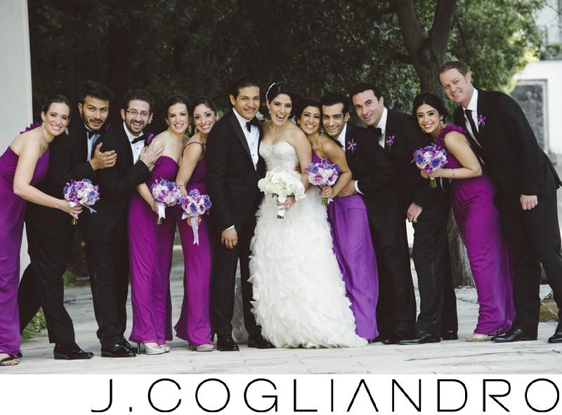 Bridal Party Miami Wedding Portraiture