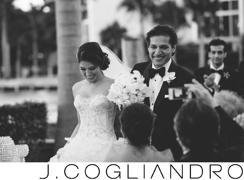 Best Black and White Wedding Photography in Miami