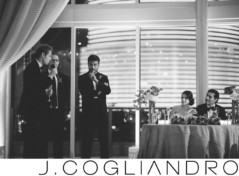 Toasts Fine Art Wedding Photographer in Miami