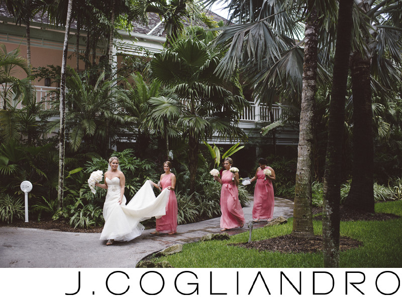 Bridal Party Wedding at One and Only Ocean Club Bahamas