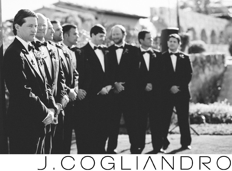 The Groom and Groomsmen Destination Wedding Photography