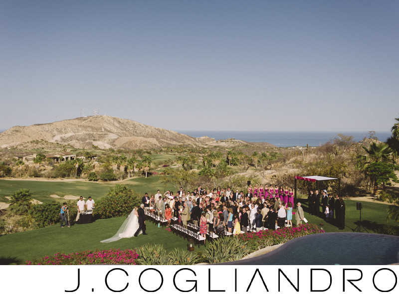 The Wedding Ceremony at Querencia in Los Cabos, Mexico