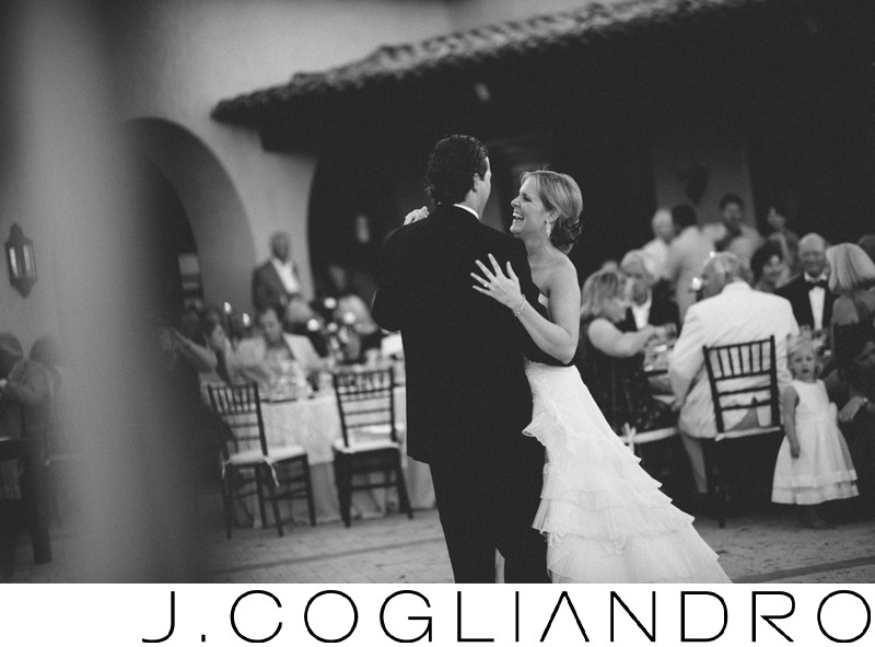The First Dance Wedding Photography at Querencia