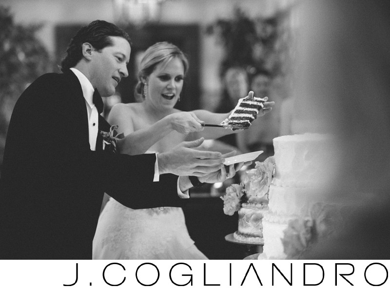 Graciously Cut the Cake Fine Art Wedding Photographer