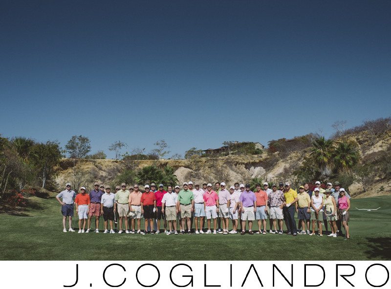 Wedding Golf Tournament at Querencia Golf Club in Cabo