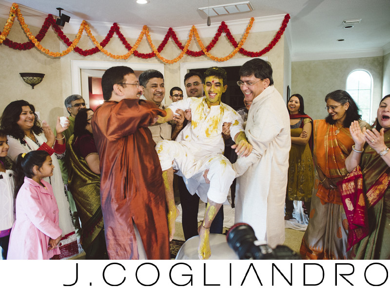 The Groom! South Asian Wedding Ritual Photography