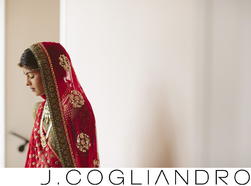 South Asian Bridal Portraiture in Houston