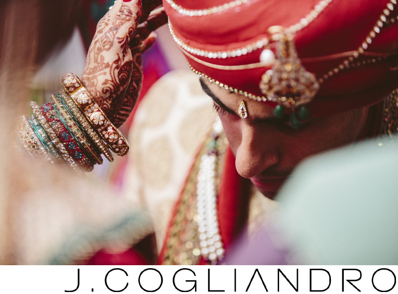 South Asian Wedding Details at Chateau Cocomar in Houston