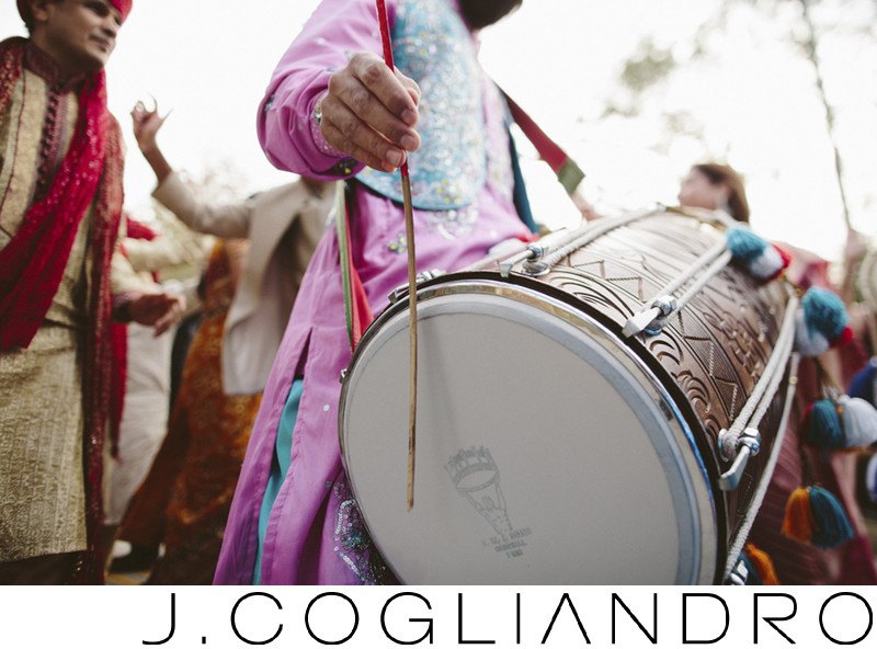 Playing the Drum Weddings at Chateau Cocomar in Houston