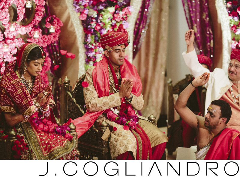 South Asian Wedding Ceremonies at Chateau Cocomar