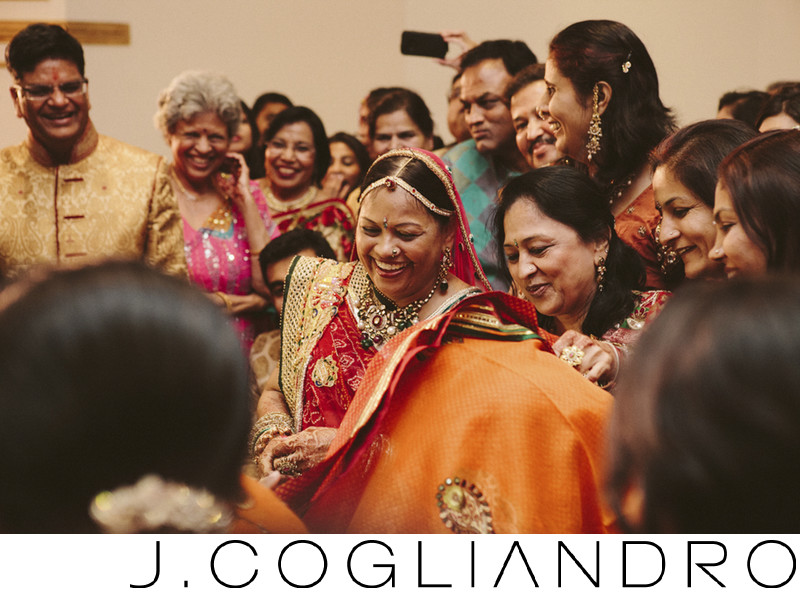 Indian Wedding Photography in Houston at Chateau Cocomar