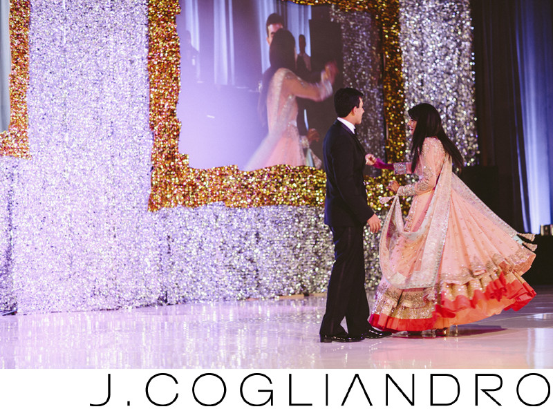First Dance at Best of Indian Wedding Photography