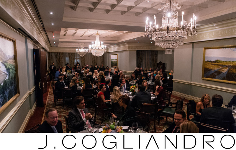 Elegant Rehearsal Dinner at Coronado Club Houston