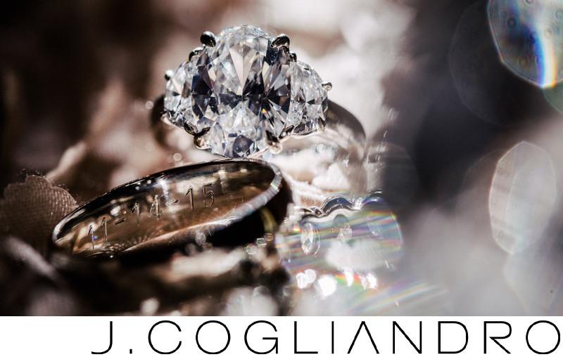 Wedding & Engagement Rings Houston Wedding Photography