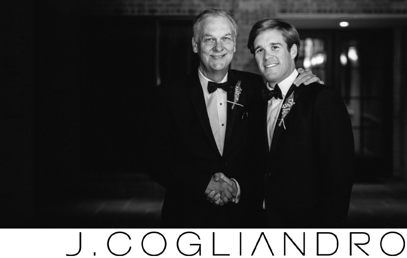 Father and the Groom Houston Wedding Photography