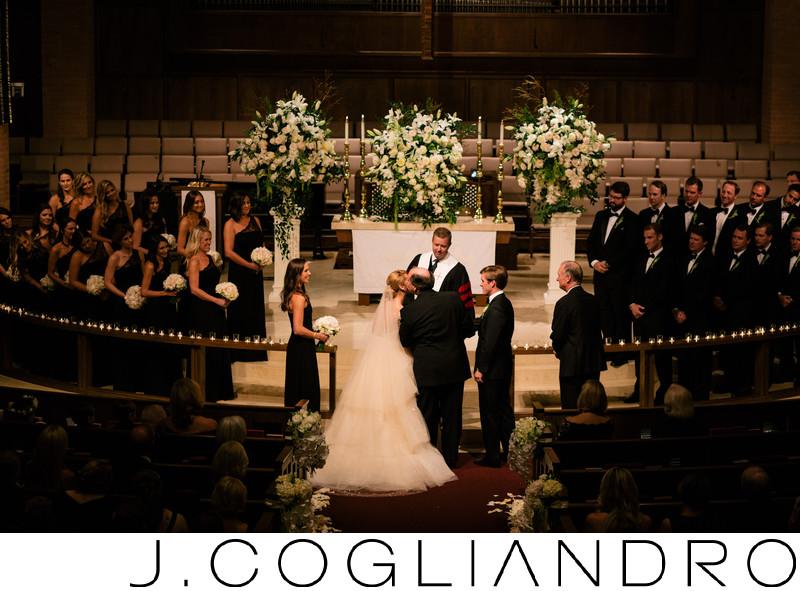 Elegant Houston Wedding Ceremony in River Oaks