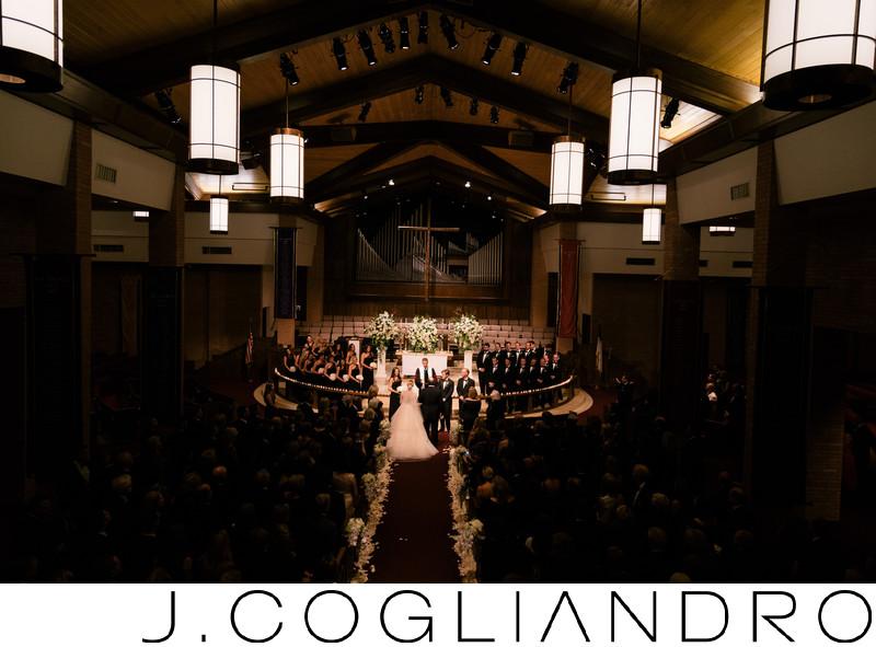 Wedding Ceremony at Chapelwood United Methodist