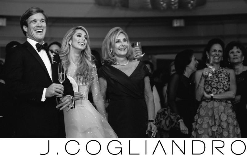 Elegant Reception in River Oaks Wedding Photography