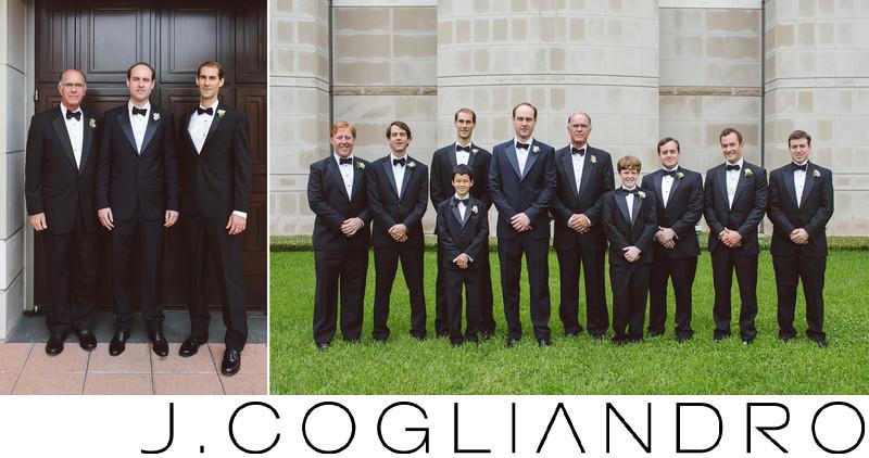 Groomsmen Portraiture Wedding Photography in Houston