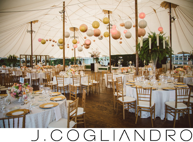 Elegant Dinner Reception at Texas Corinthian Yacht Club