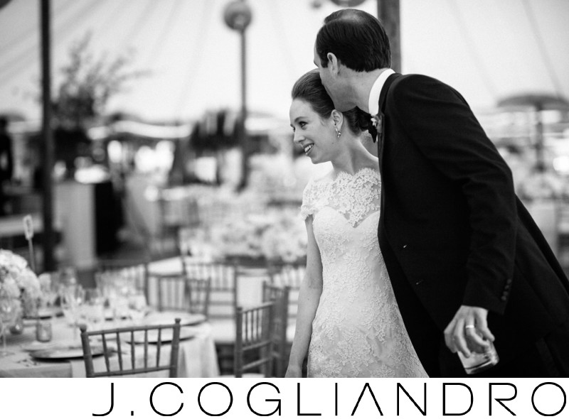 Newlyweds at Texas Corinthian Yacht Club in Houston