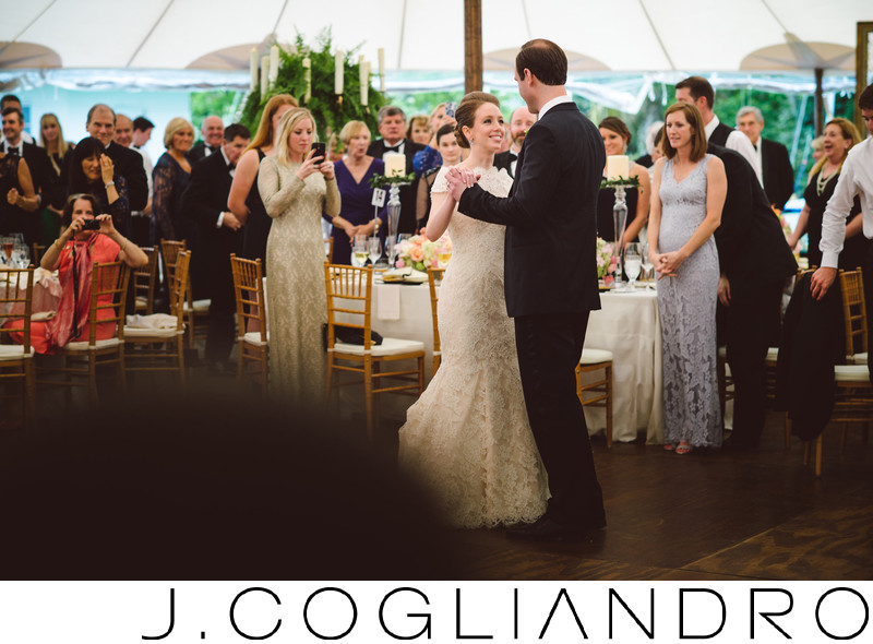 First Dance at Texas Corinthian Yacht Club in Houston