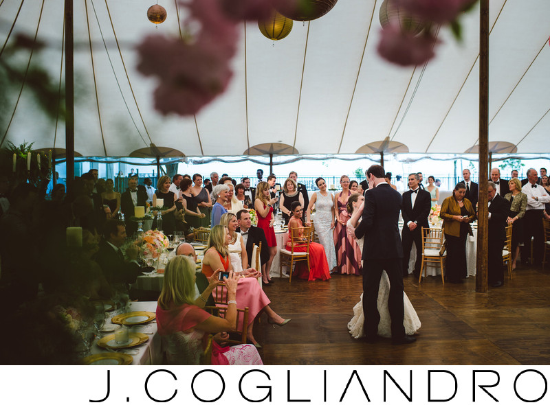 Beautiful Reception at Texas Corinthian Yacht Club