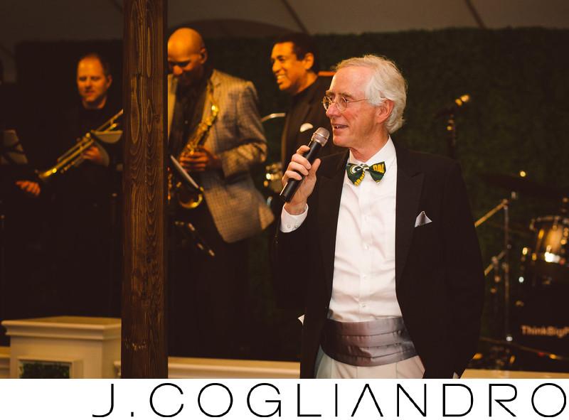 Toasting the Couple Houston Wedding Photography