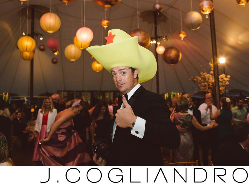 Cowboy at Texas Corinthian Yacht Club Reception