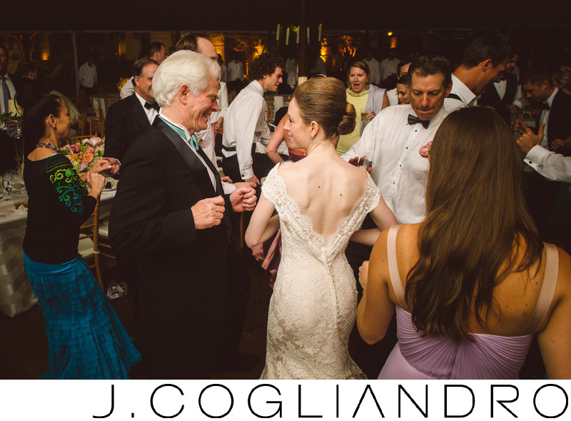 Bride Having Fun at Texas Corinthian Yacht Club