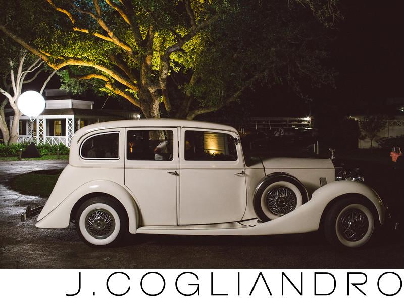 The Get Away Car Elegant Houston Wedding Photography