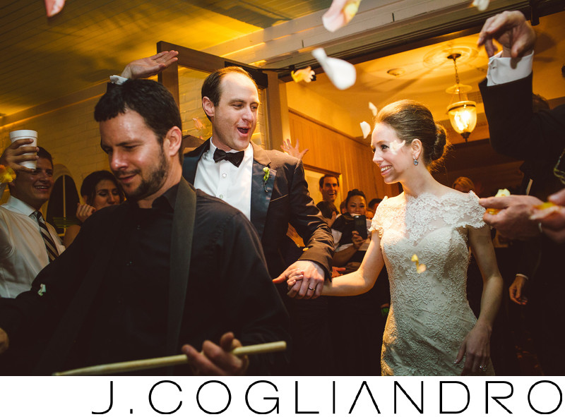 The Bride and Groom Depart Texas Corinthian Yacht Club