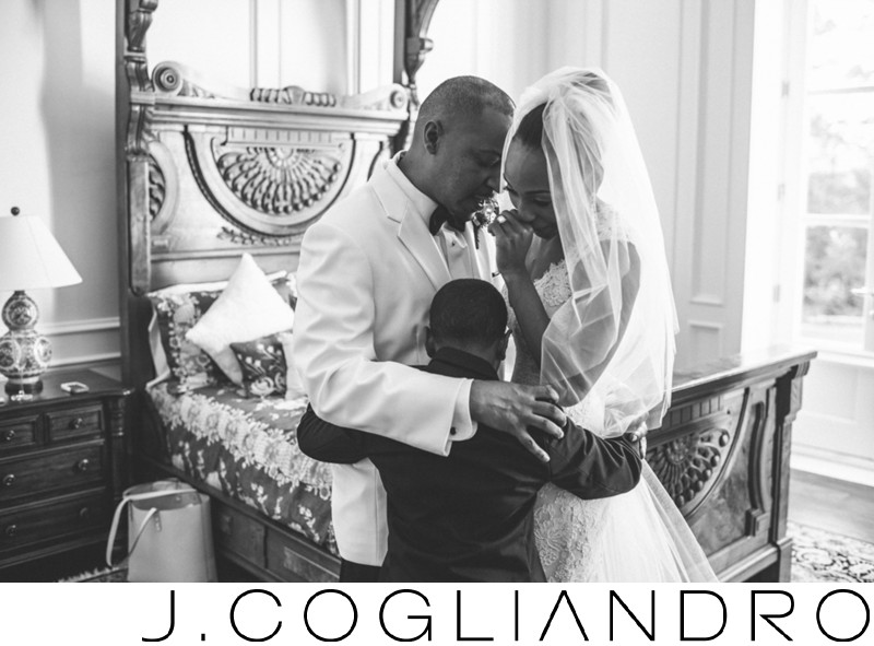 Wedding Photojournalism at Chateau Cocomar in Houston
