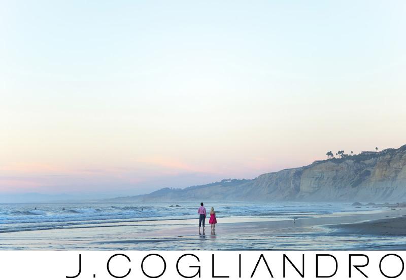 La Jolla Beach Engagement Photographer