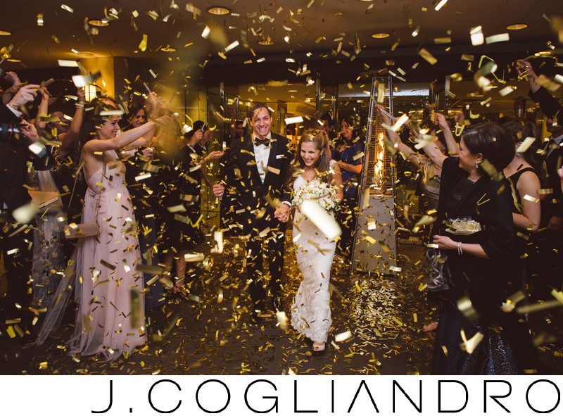 Confetti! Weddings at the Four Seasons in Houston