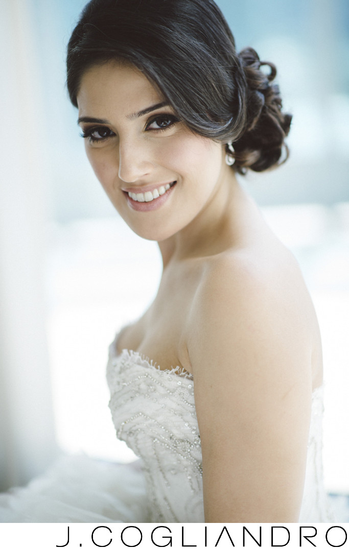 Elegant Bridal Portrait at the Epic Hotel in Miami
