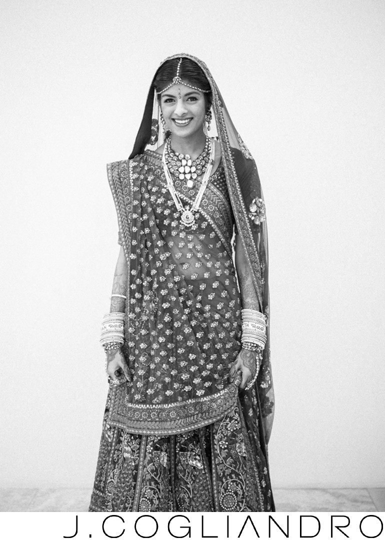 Nikita's Bridal Portrait at Chateau Cocomar in Houston