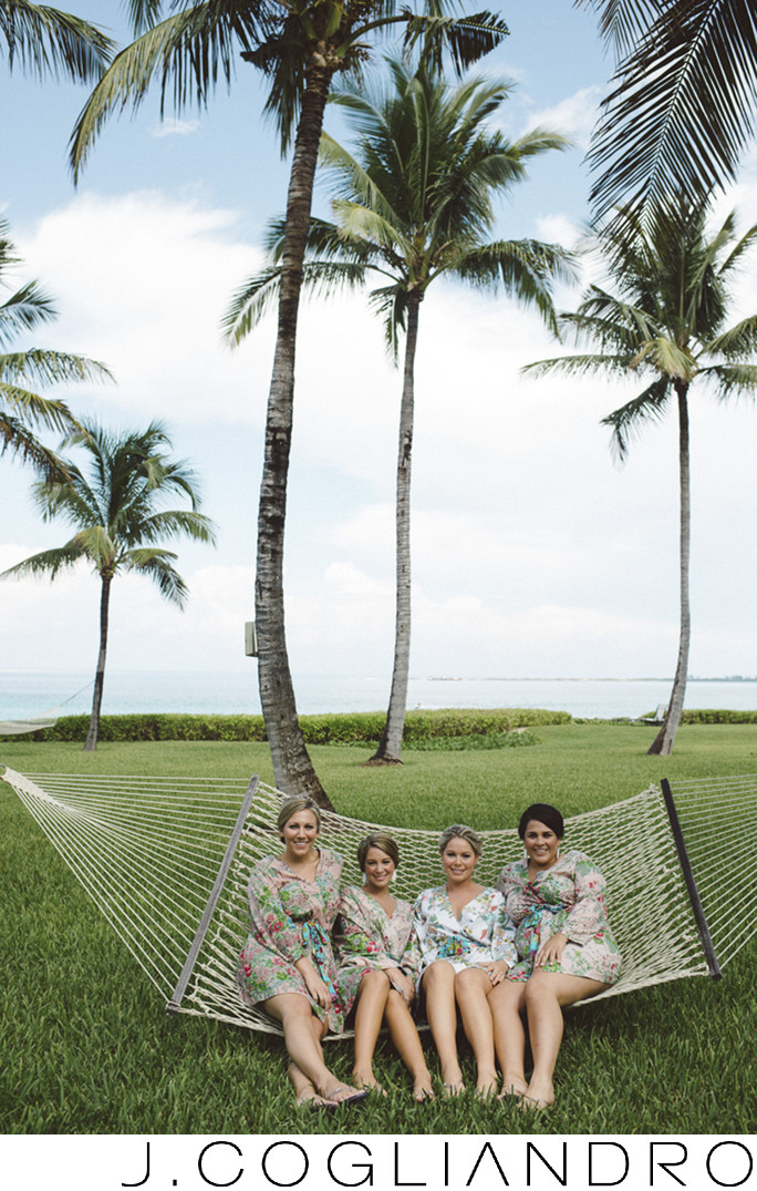 The Bride and The Bridesmaids Pre-Wedding Photography