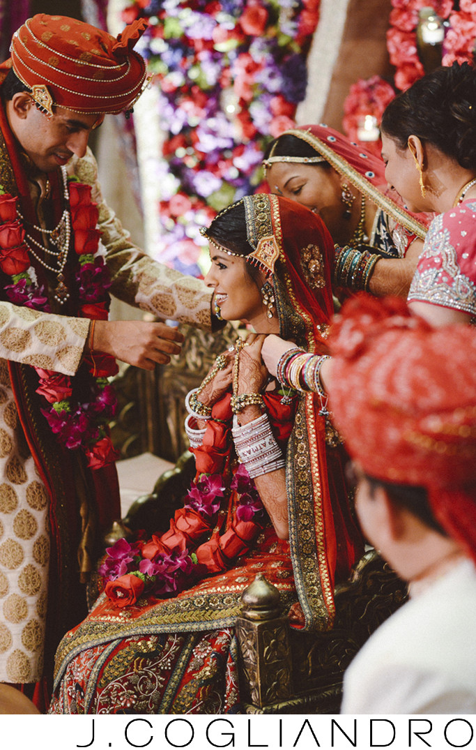 Decorating the Bride at South Asian Weddings in Houston