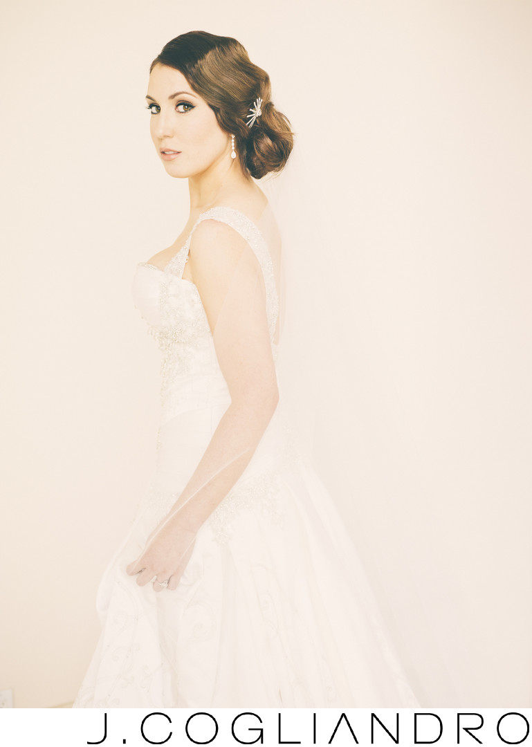 Bridal Portrait at Chateau Cocomar