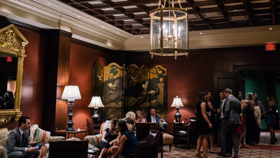 Elegant Receptions at River Oaks Country Club Houston
