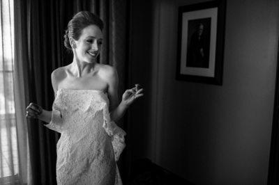 Black and White Fine Art Wedding Photography Houston