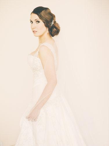 Houston Wedding Photographer - Chateau Cocomar Bridal Portrait