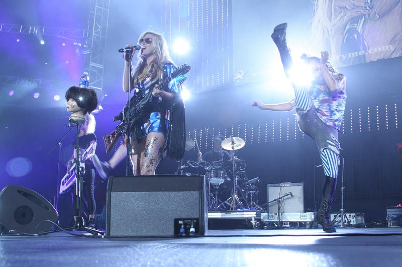 Kesha performs at Wango Tango