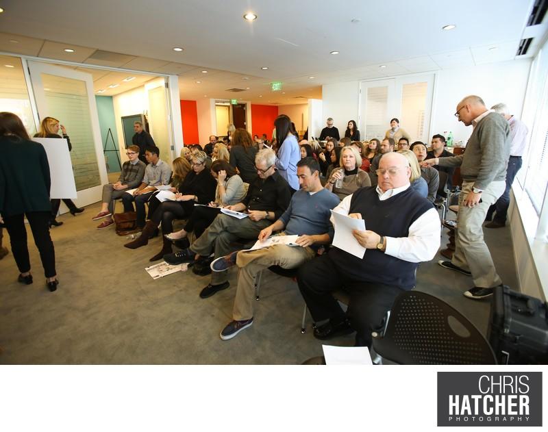 2014 Student Design Charette held at Pivot Interiors in Irvine, CA on February 8, 2014. .