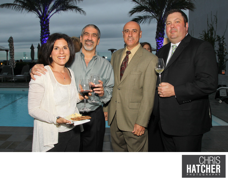 Jordan Vineyard & Winery Celebrates 40th Anniversary, held on The London Hotel rooftop in West Hollywood, California, USA on Monday, April 23, 2012