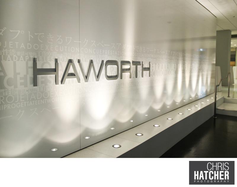 HAWORTH - A&D AND CUSTOMER OPEN HOUSE. Held at the Haworth Showroom in Santa Monica, CA