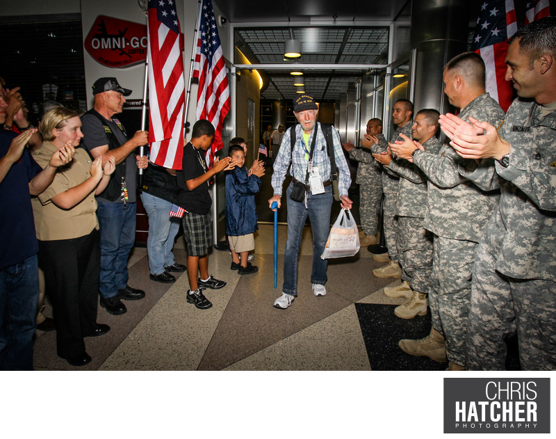 Honor Flight Kern County Memorial Weekend trip to Washington D.C. May 25, 2012 - May 27, 2012. ©2012 Chris Hatcher Photogrpahy
